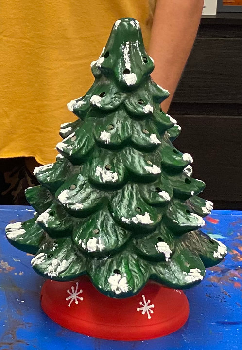 "13"" Ceramic Christmas Tree"
