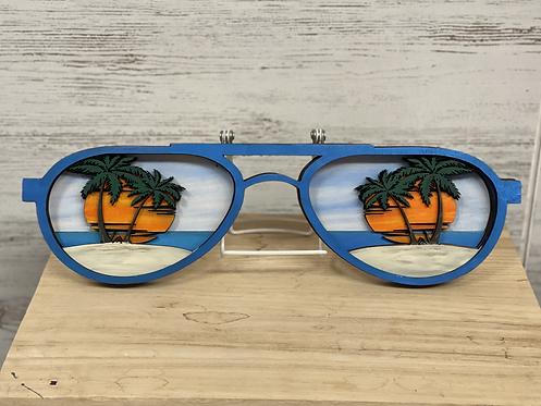 DIY Kit- Large Beach Sunglass 3d Sign