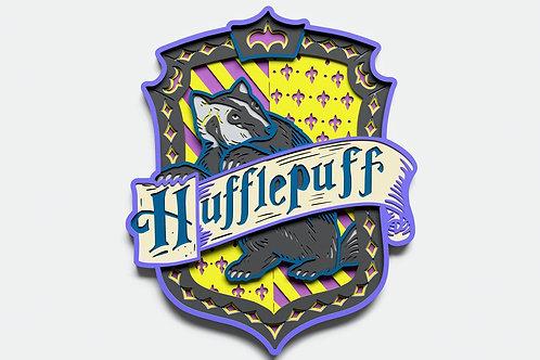 DIY Kit- Harry Potter Crests 3D Wood Sign