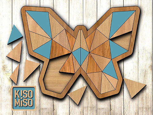 Wood Puzzle Kit-Butterfly