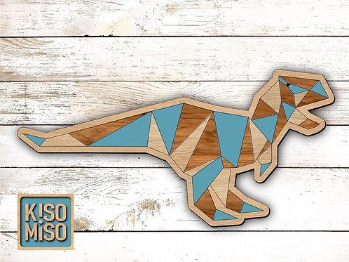 Wood Puzzle Kit-T-Rex Dinosaur