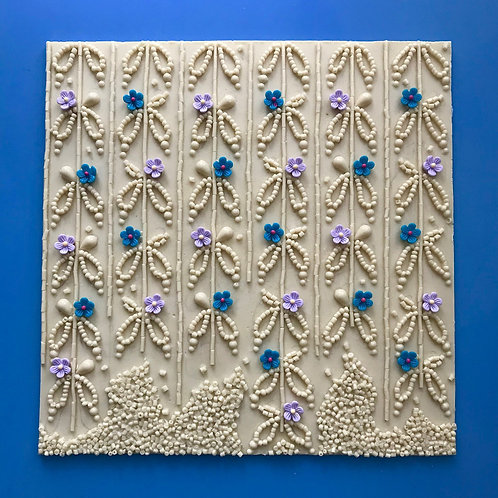Silicone decorating mould - Flowering