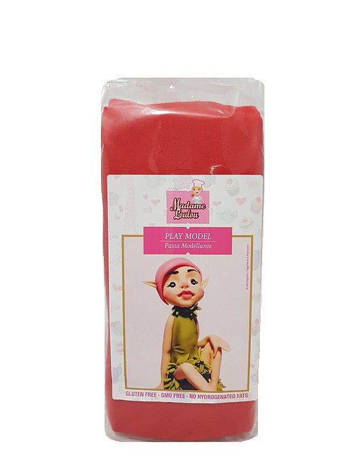 Madame Loulou Modelling Paste (Play Model) - Red, 1kg