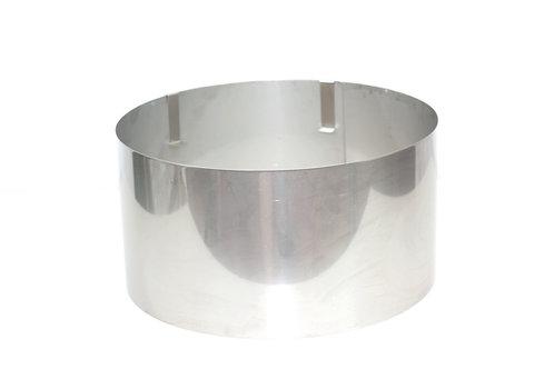 Round cake ring, 14cm high, 26cm - 31cm base