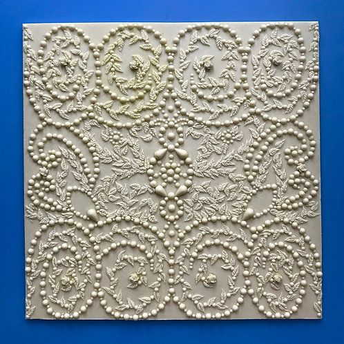 Silicone decorating mould - Baroque