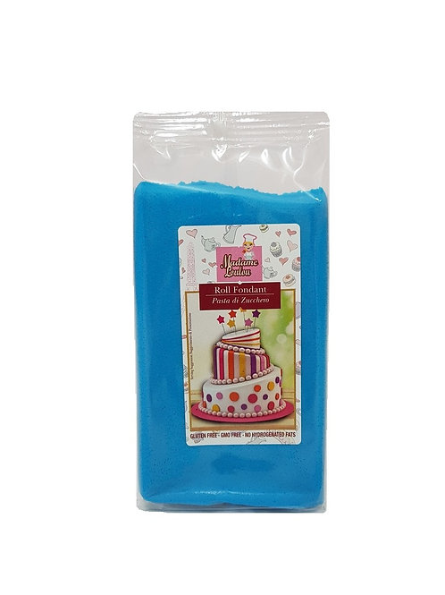 Madame Loulou Roll Fondant - Blue, 250g