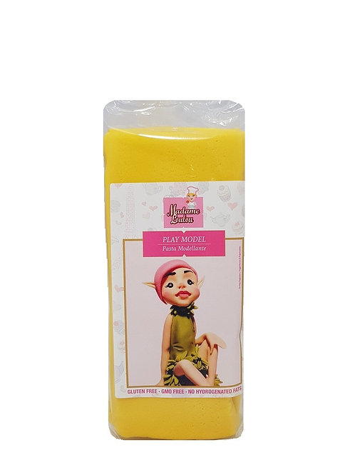 Madame Loulou Modelling Paste (Play Model) - Yellow, 1kg