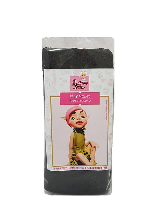Madame Loulou Modelling Paste (Play Model) - Black, 1kg