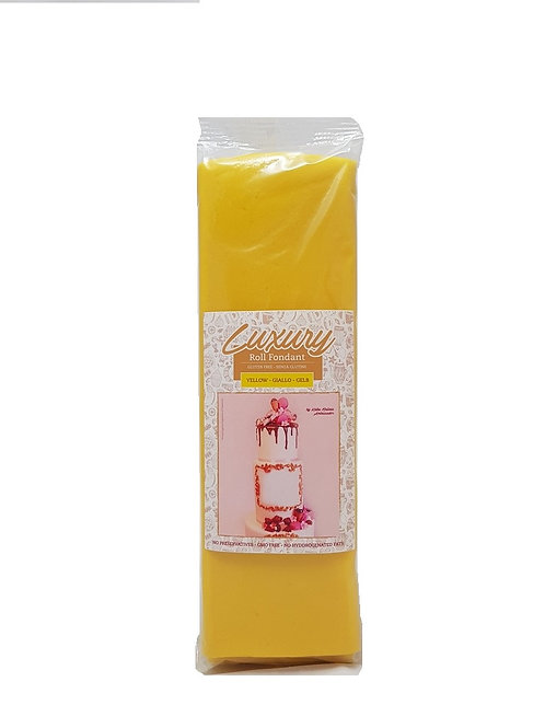 Madame Loulou Luxury Fondant - Yellow, 1kg