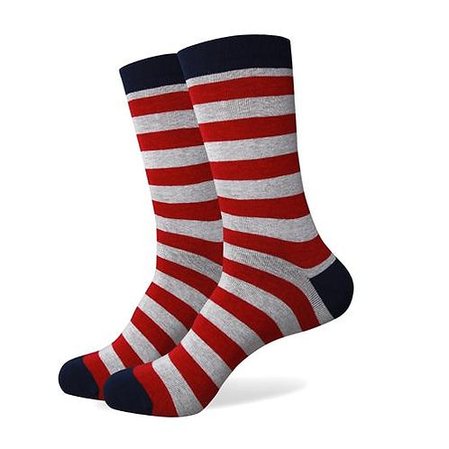 Stripes RedGray