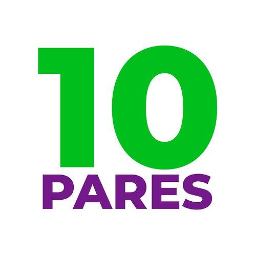 10-PARES MIX (23.000 par)