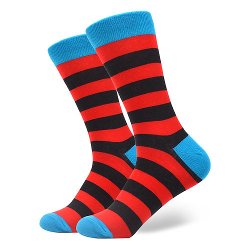 Stripes BlackRed