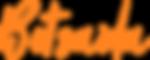 betsaida font orange written.png