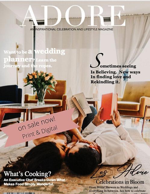 Adore Magazine Volume 3 Spring Summer