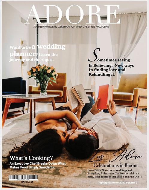 Adore Magazine Print Edition