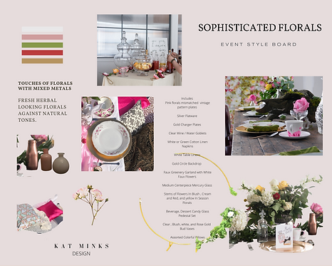 Sophisticated Florals