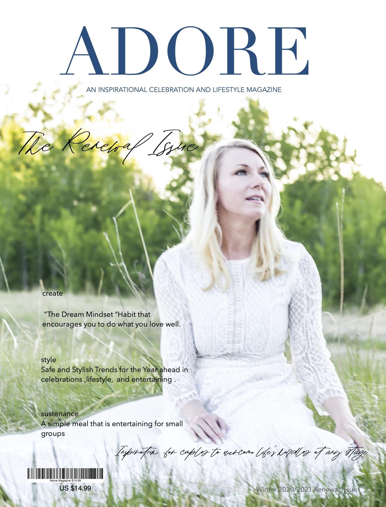 Adore Magazine Cover Winter 2020