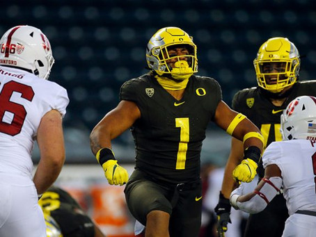 Total 4/5 Star Recruits on Pac-12 Rosters for 2021