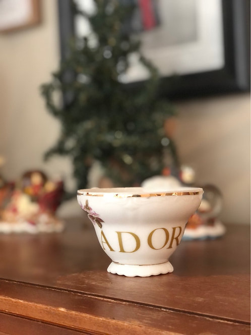 Adore Vintage Custom Tea Cup set