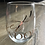 "Thumbnail: Adore Magazine ""i love you"" Wine Glass"