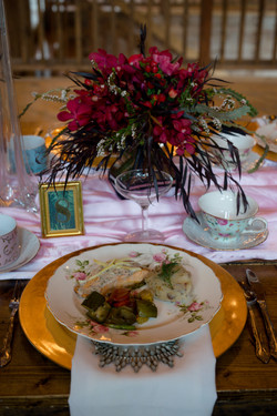 Mismatched China Dinner Plates