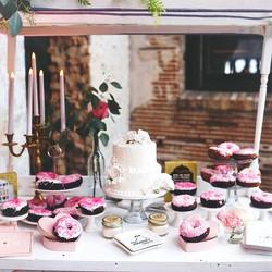 Event decor and design Kat Minks Design Wedding Dessert Table Rentals