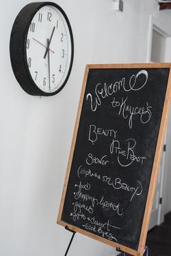 Chalk Board Sign