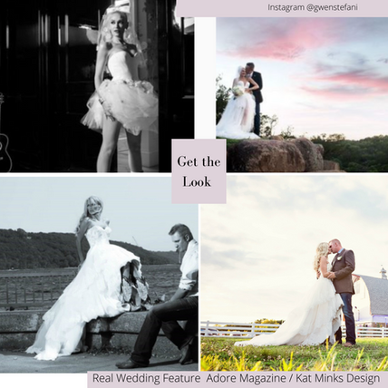 """The Gwen & Blake """"Sweet Escape"""" Rustic Glam Look for your Intimate Micro-wedding or Event."""