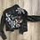 Thumbnail: Hand Painted Vegan Leather Jacket