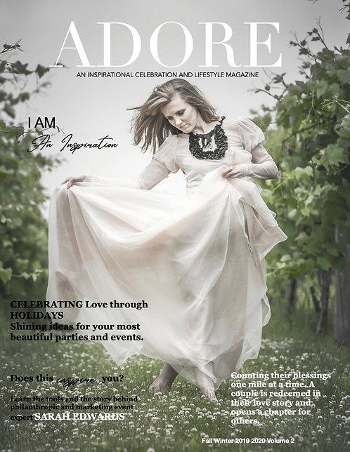 Digital - Adore Magazine Volume 2 Fall Winter