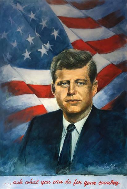 """""""John F. Kennedy"""" portrait"""