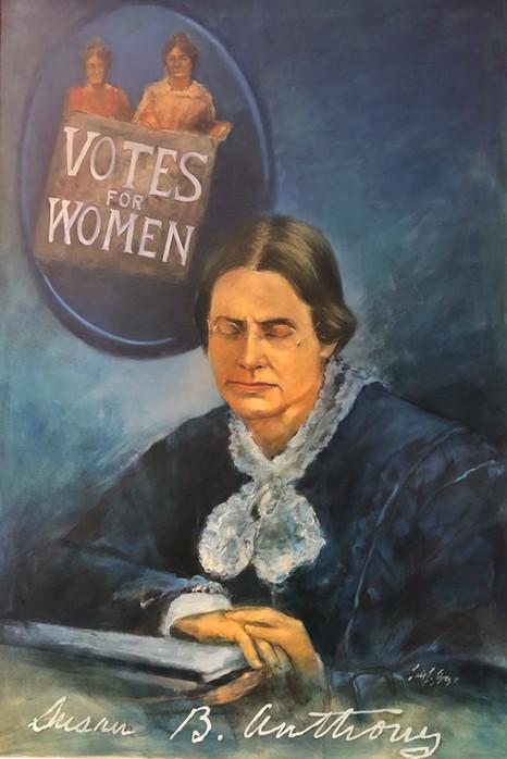 """""""Susan B. Anthony"""" portrait"""