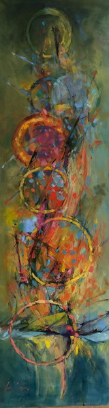 """Ascending Circles""-SOLD"