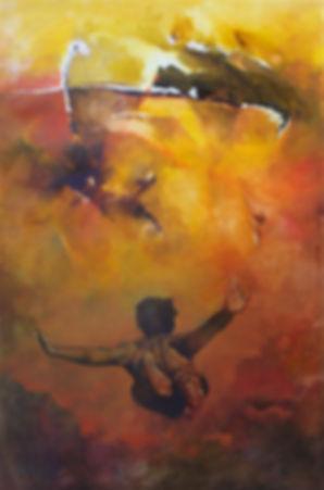Rapture (Man flying) 40 x 60 Dsc00774.jp