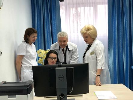 Телемедицинская платформа МЦМД представлена мэру Москвы