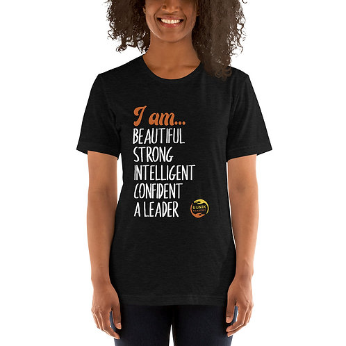 I AM BEAUTIFUL MANTRA Adult Short-Sleeve Unisex T-Shirt