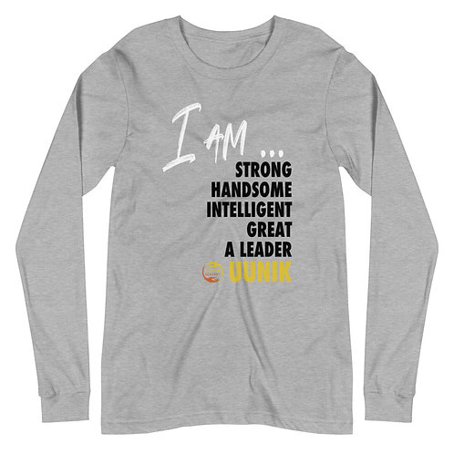 I AM STRONG Mantra Men's Long Sleeve Tee