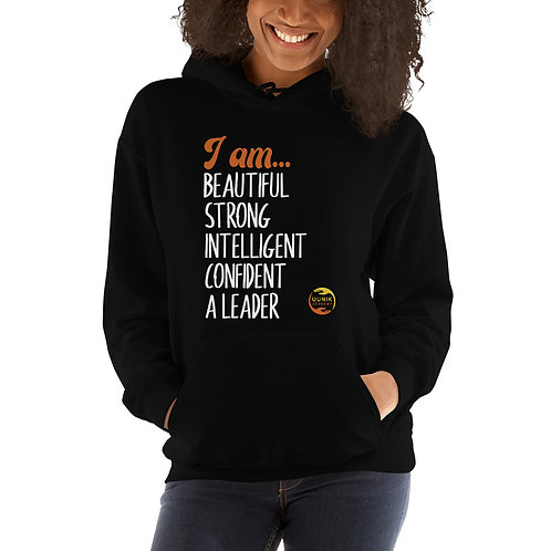I AM BEAUTIFUL MANTRA Women's Unisex Hoodie