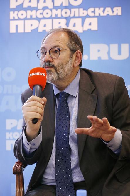 Радиостанция «Комсомольская правда» и представители бизнеса обсудили будущее телемедицины
