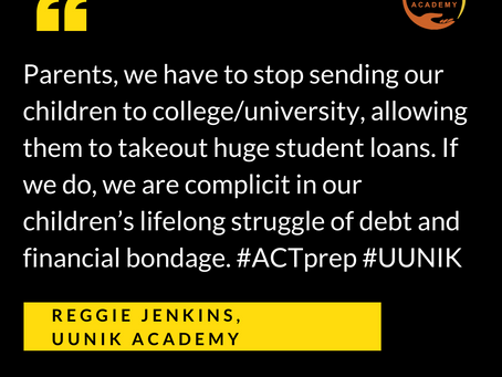 Stop mortgaging your child's future via student loan debt
