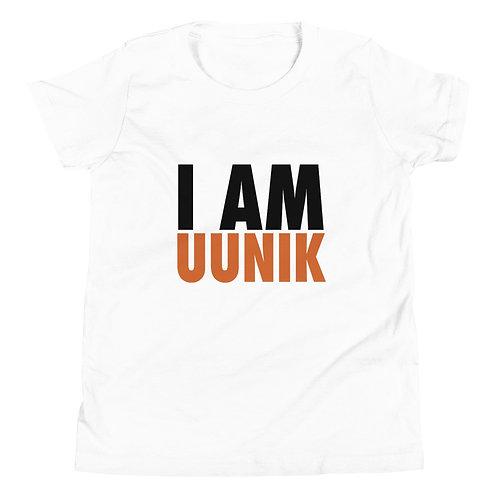 I AM UUNIK Youth Unisex Short Sleeve Logo T-Shirt
