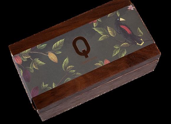 Caixa Madeira 3 barras Q95 - 50g