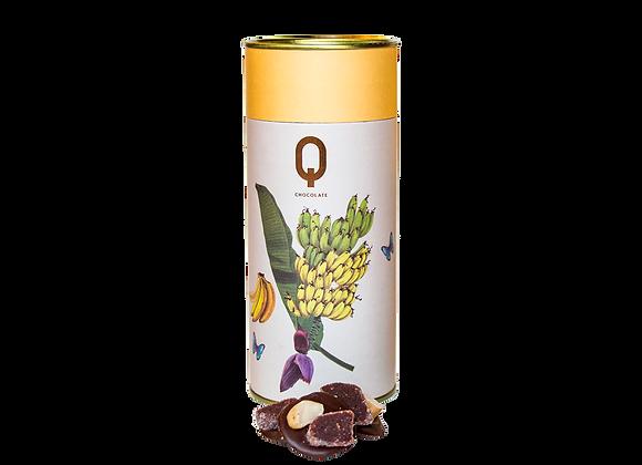 Chocolate Suave com Banana e Castanha - 200g