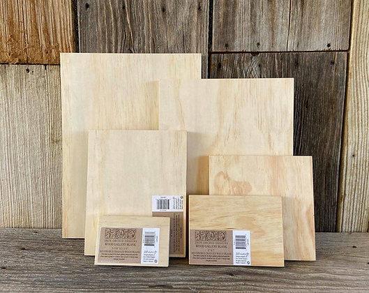 Wood Panels 11x14