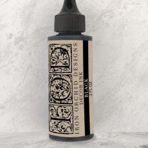 DECOR INK BLACK 2 OZ.