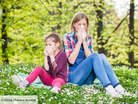 Atténuer les allergies grâce à la réflexologie