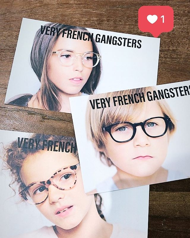 Very French Gangsters 🧐 - Montures 💯 % Françaises 👍🏼 - Confort & Style 🙏 #lunettes #glasses #ve