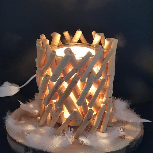Brûleur  électrique bois   !