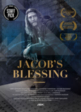 Jacob's Blessing A3 Poster with Laurels.