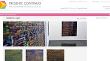 Federico Miró en la web Presente Continuo, Arte Contemporáneo Andaluz